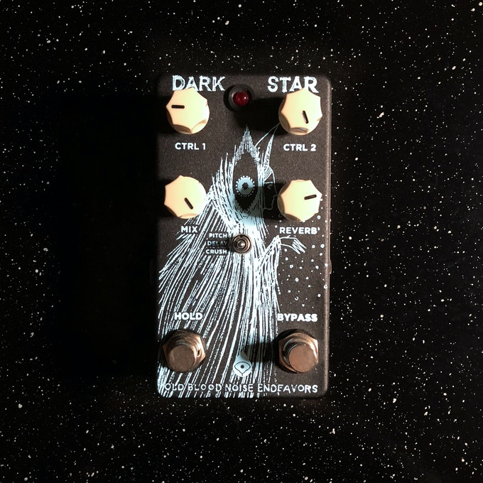 Pedal used on the album (OBNE Dark Star)
