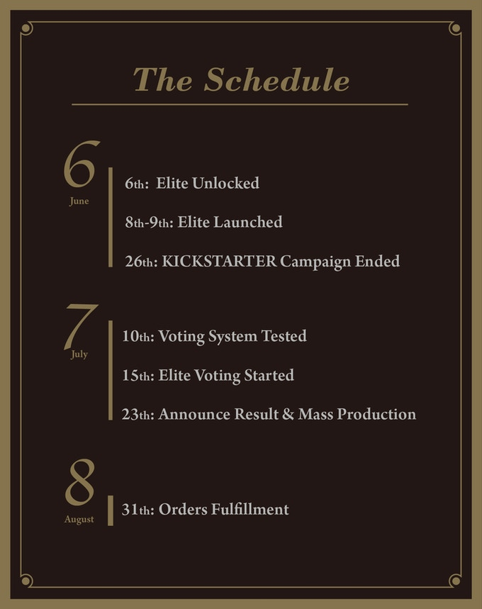 The Elite Schedule