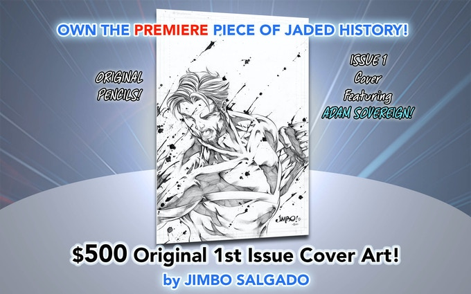 Includes HARDCOVER Copy Signed and ALL variant cover rewards!