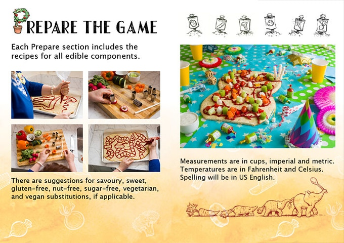 edible games cookbook play with your food by jenn sandercock
