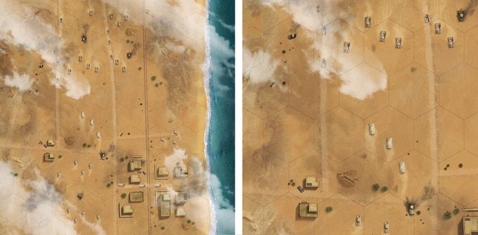 Work in progress El Alamein Map