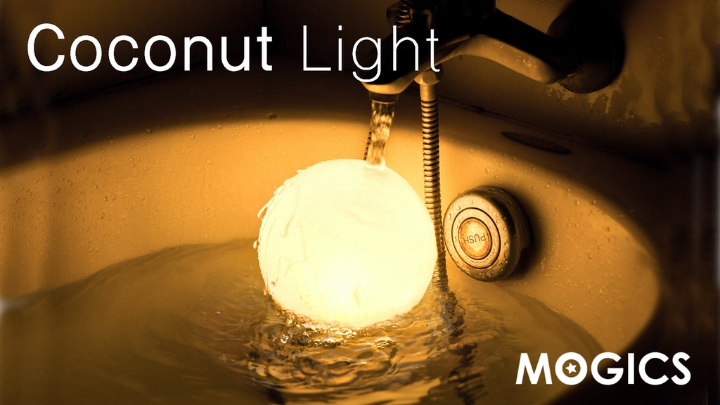 MOGICS Coconut - The Most Adaptable & Portable Light EVER