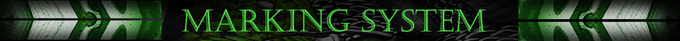 Green Dragon (Standard Edition) features a 3 level marking system