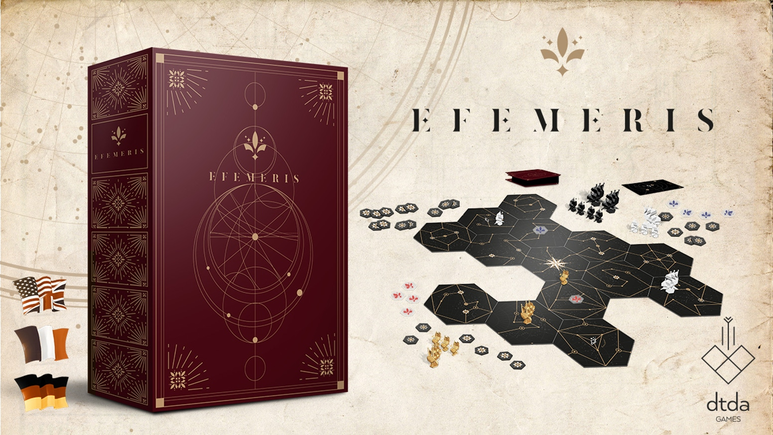 Efemeris is a strategy game, set in an uchronic Age of Exploration
