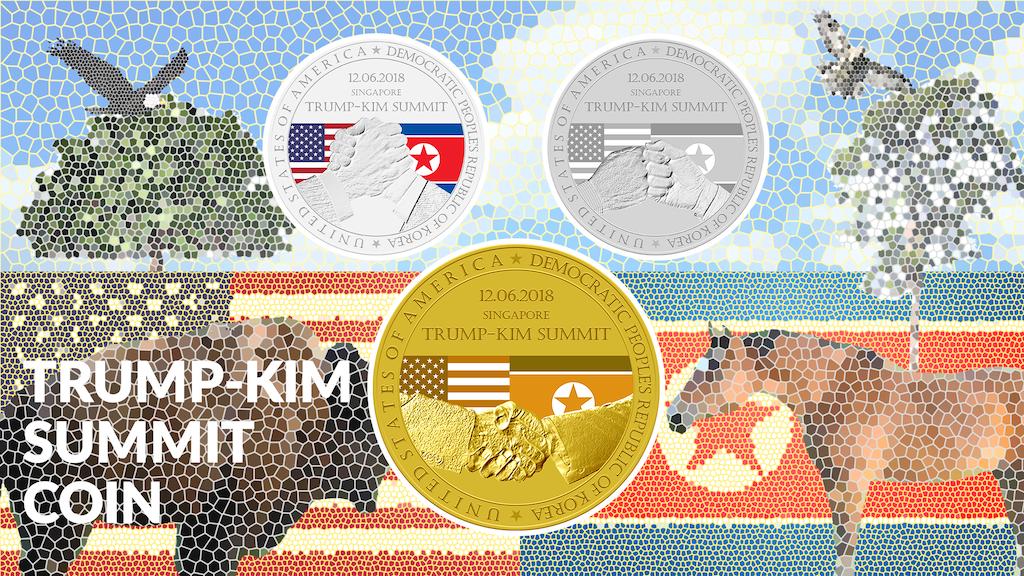Trump-Kim Summit Commemorative Coin