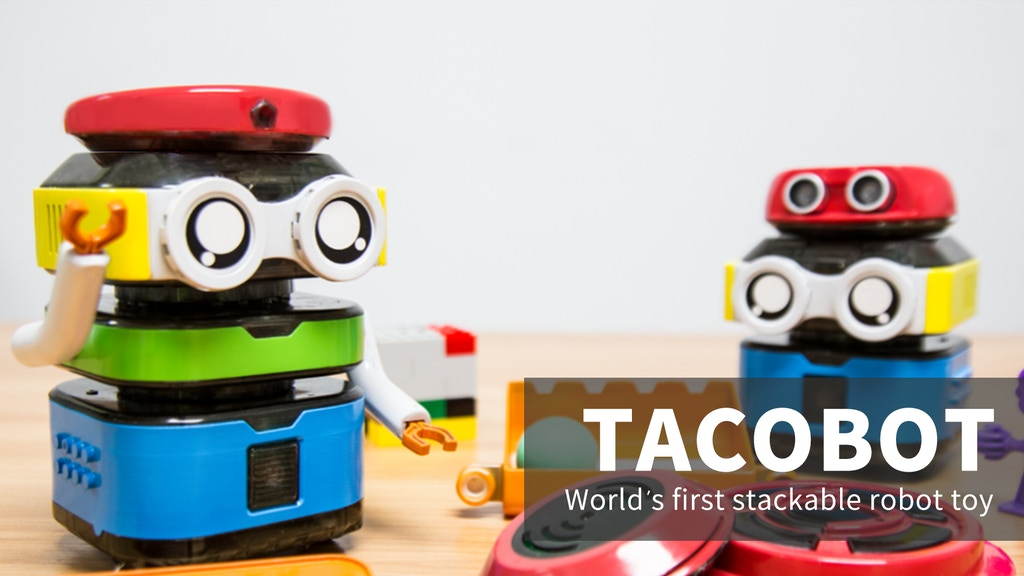TacoBot: the newest stackable coding robot for kids project video thumbnail