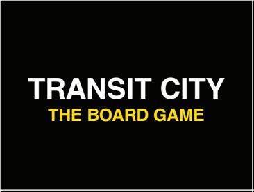 Sample Transit City Card front
