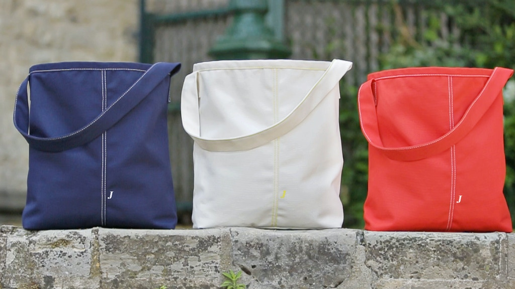 Jayé. We design great tote bags, the french way! project video thumbnail