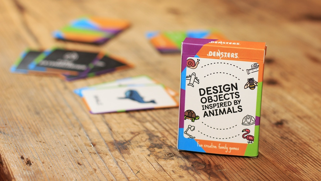 Design Objects Inspired by Animals! Quickstarter card game project video thumbnail