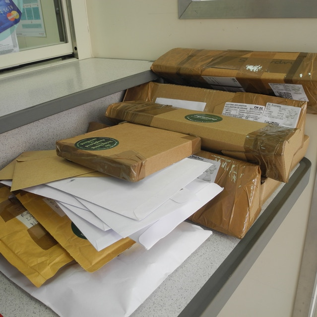 The Kickstarter Rewards at the post office