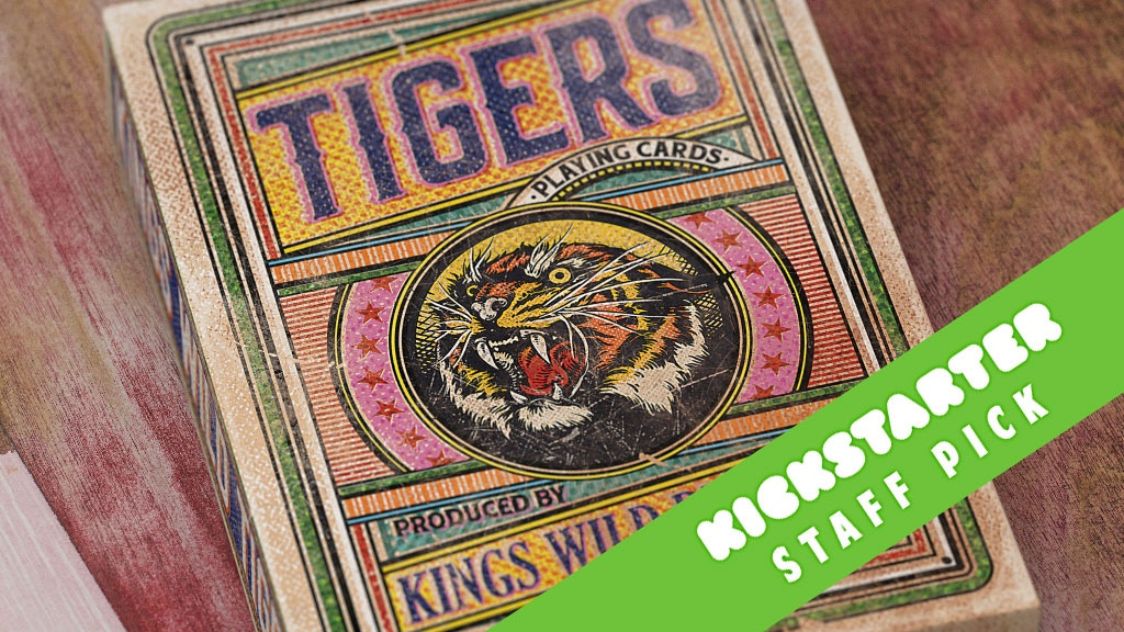 Kings Wild Tigers Playing Cards project video thumbnail