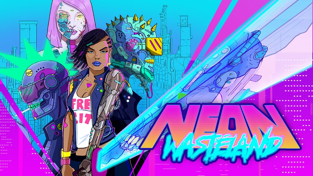 Neon Wasteland #1 -Interactive Animated Comic Book & AR App project video thumbnail