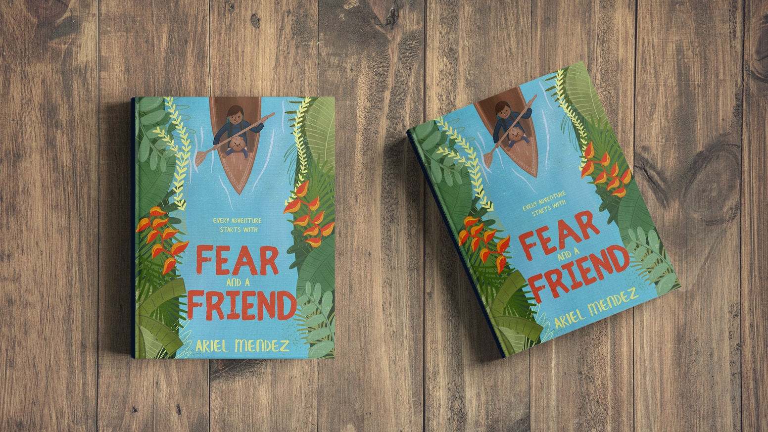 FEAR and a FRIEND || A children's picture book about fear, friendship, and the value of life experiences.