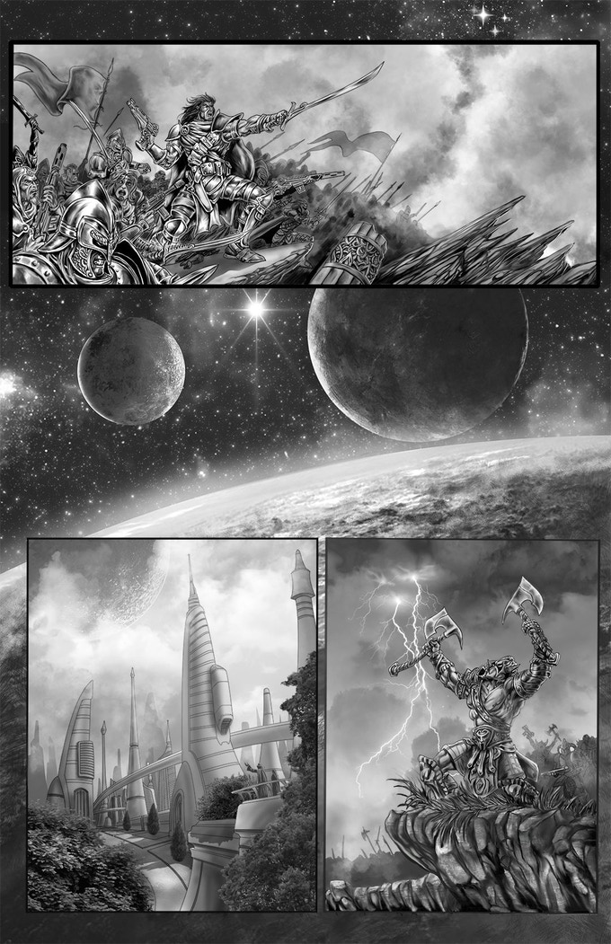 Dark Matter: Rise of the Lexicons #1 page 1
