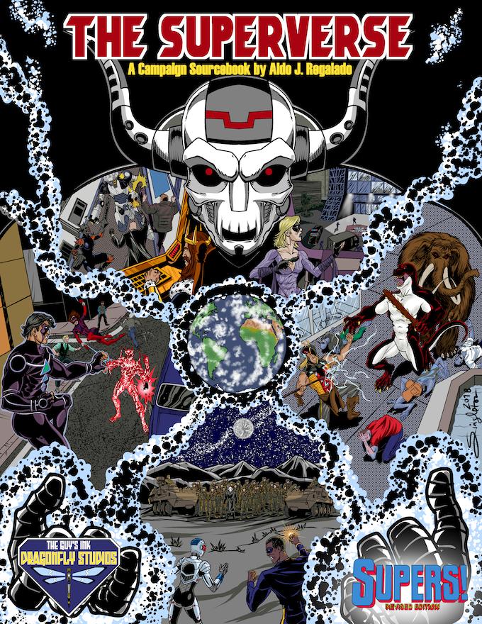 The Superverse cover by Joe Singleton
