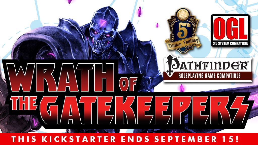 Project image for Wrath of the Gatekeepers Campaign serial adventures