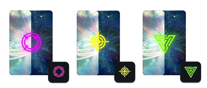 New Skirmish Cards & Dice symbols