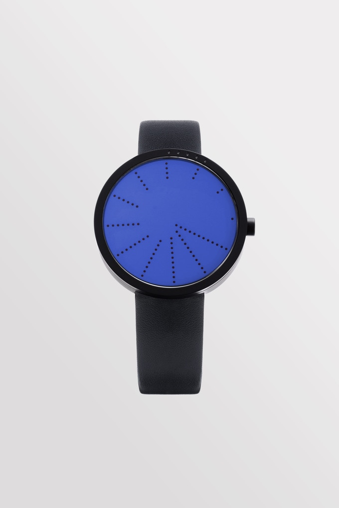 Order—BLUE with black leather strap. (1st stretch goal)