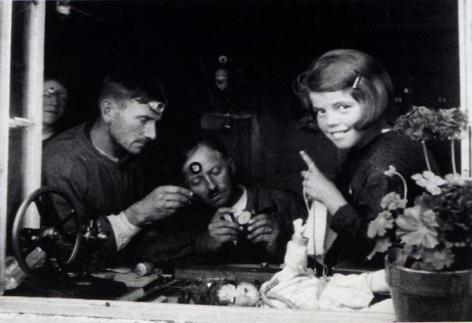 Famille Boillat au Bois (Jura Suisse, 1930)