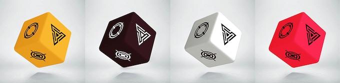 Skirmish Dice with symbols