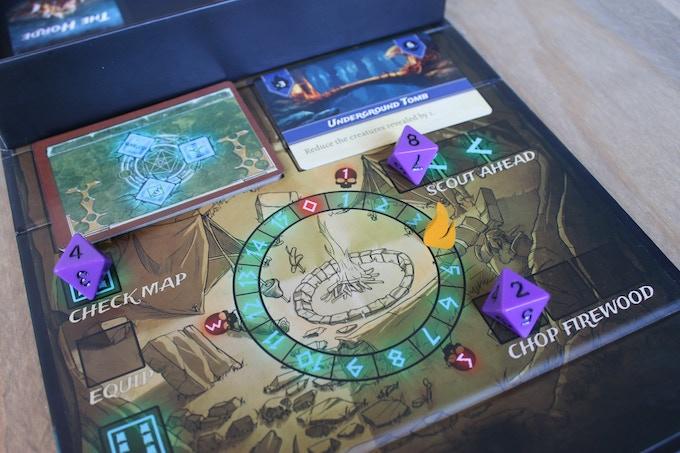 Imagen caja del juego de Kickstarter