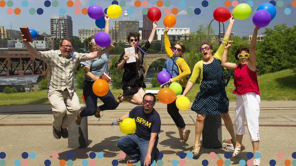 Wordplay: Create a Book Party in the Heart of Minneapolis project video thumbnail