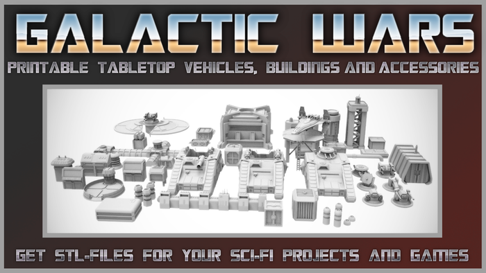 Get stl-files for your sci-fi games and modelling
