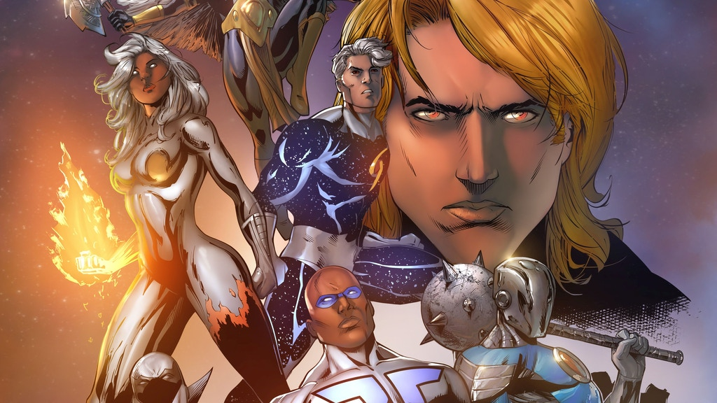 FACETS: An Epic 100 Page Graphic Novel (Tenth Anniversary) project video thumbnail