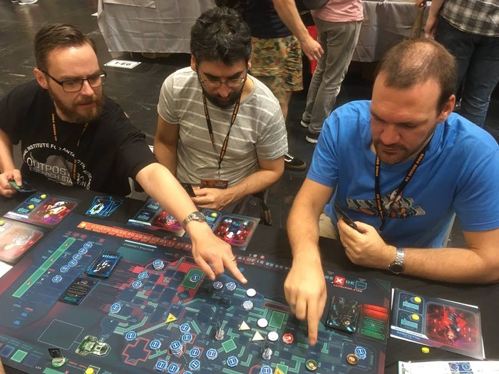 Everyone wanted to take home the playmat