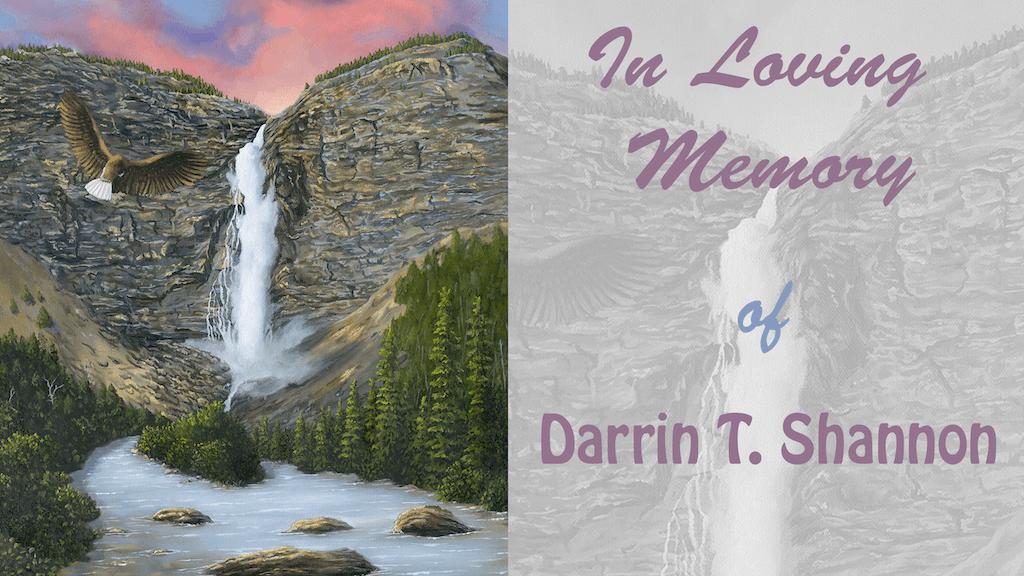 Darrin T Shannon's Memorial Prints