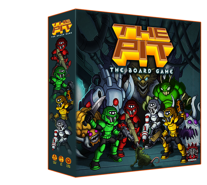 4-Player Cooperative Dungeon Crawler in an Epic Sci-Fi Universe! Pre-Order now!