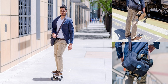 Running around town or getting to the office has never been so easy or efficient.