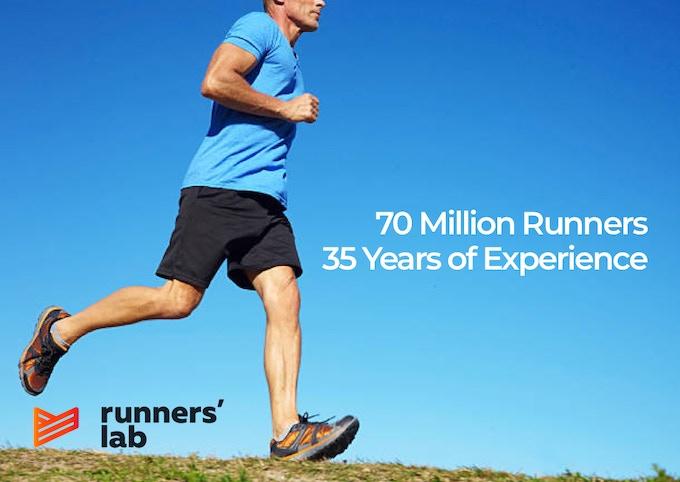 Our strategic partner, runner's lab.
