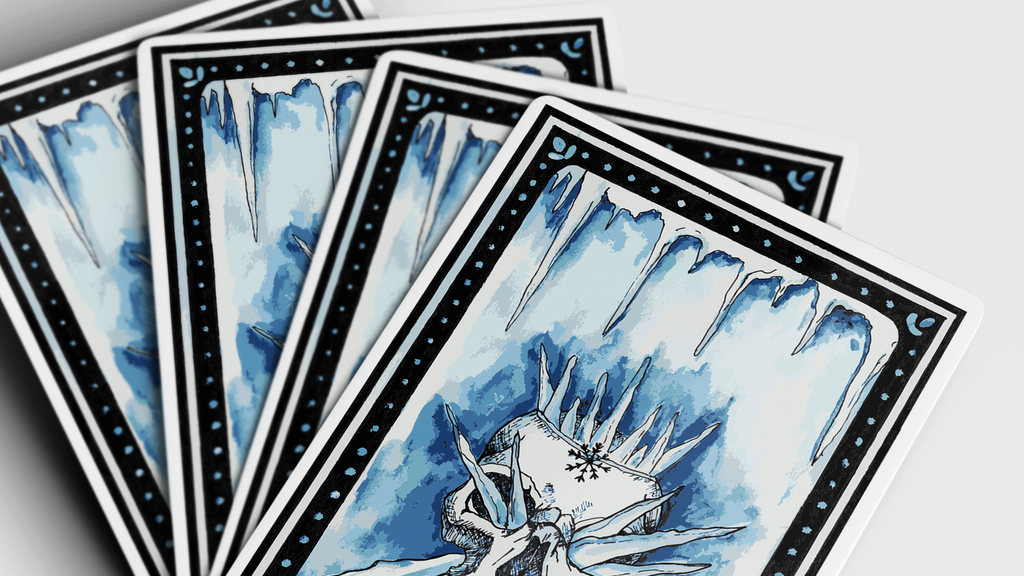 Frostbite Playing Cards - by KardKraken