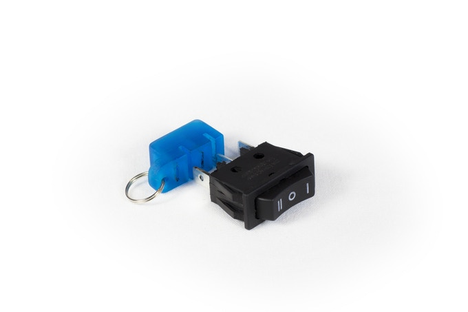 Speed switch fob included with every JackRabbit