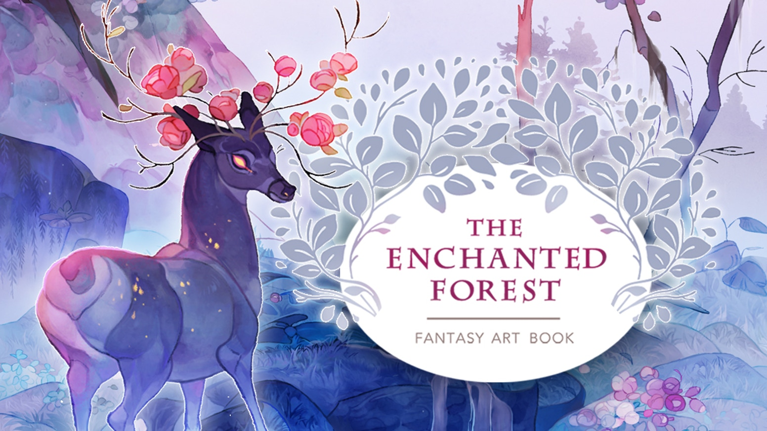 the enchanted forest fantasy art book by jodie snow kickstarter