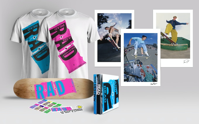 Choose from one of the pledge packs available and help make this project a reality