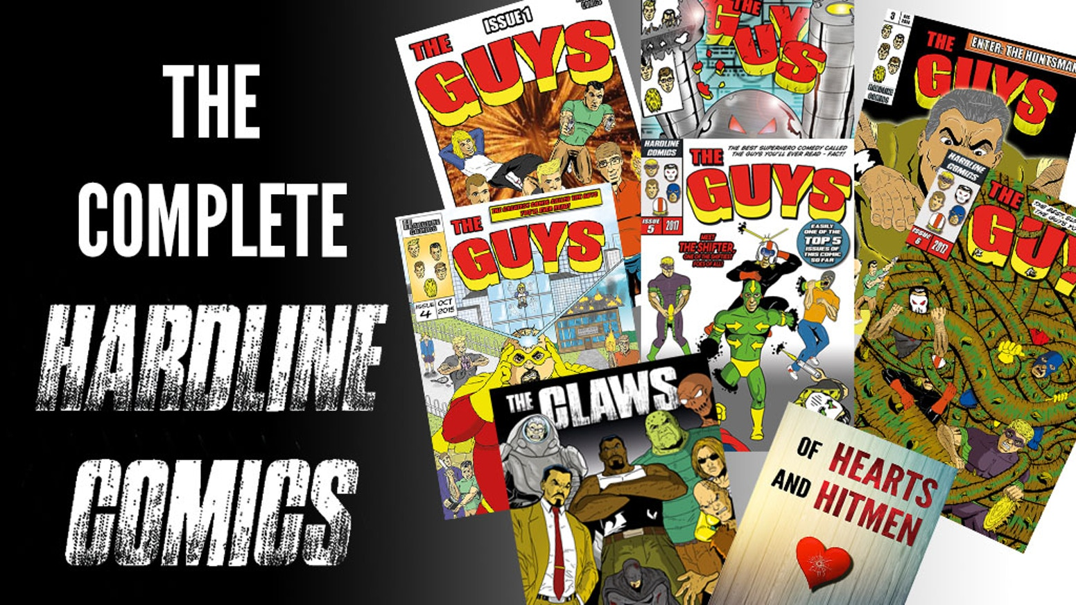 The Complete Hardline Comics
