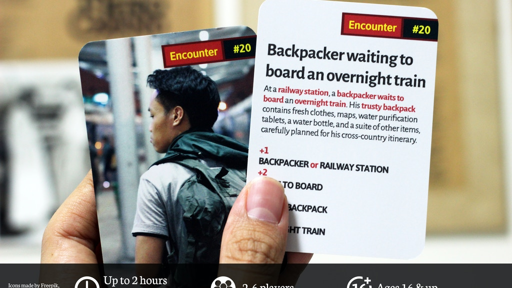 Wanderers: a Card Game for Explorers, Travellers & Friends.