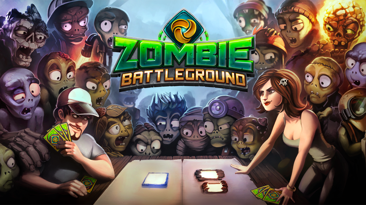 zombie battleground the new generation of ccg tcg by loom network