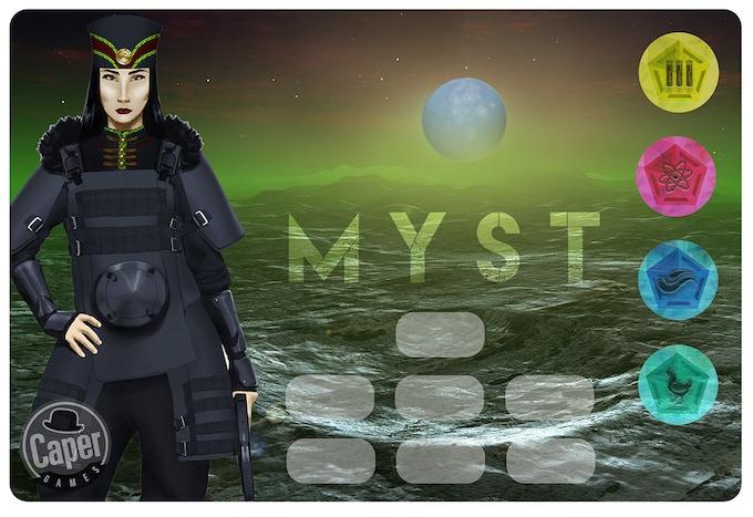 New Myst faction player mat