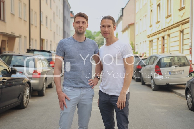 Pascal and David are the co-founders of YOOLOX
