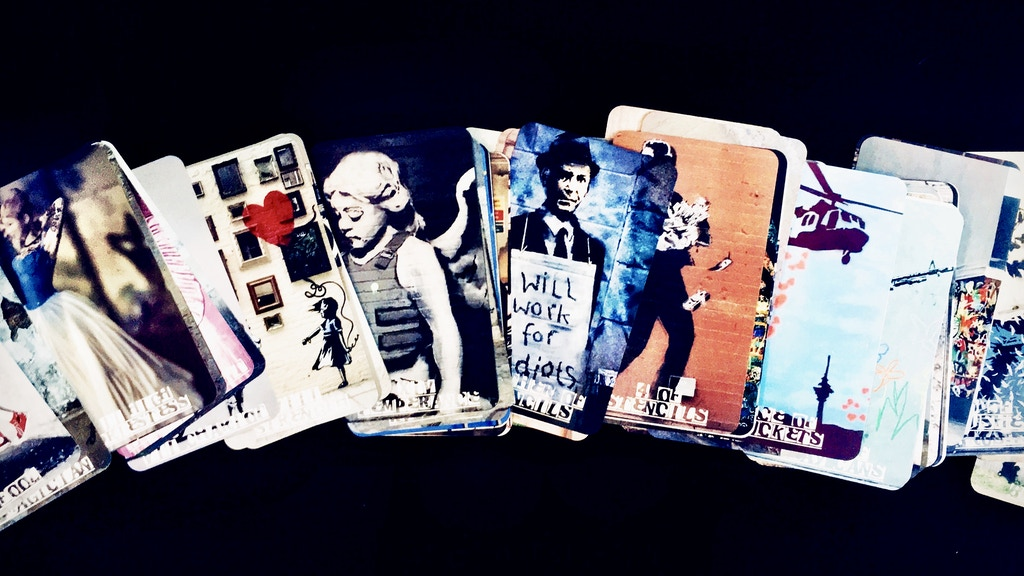 The Tarot Banksy, a Deck Comprised of Street Art project video thumbnail