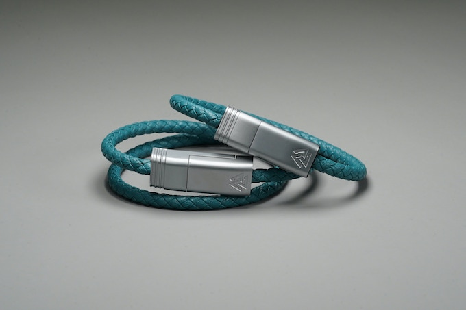 Revival Teal // Matte Silver - NILS Solo(Right) | NILS Duo(Left)