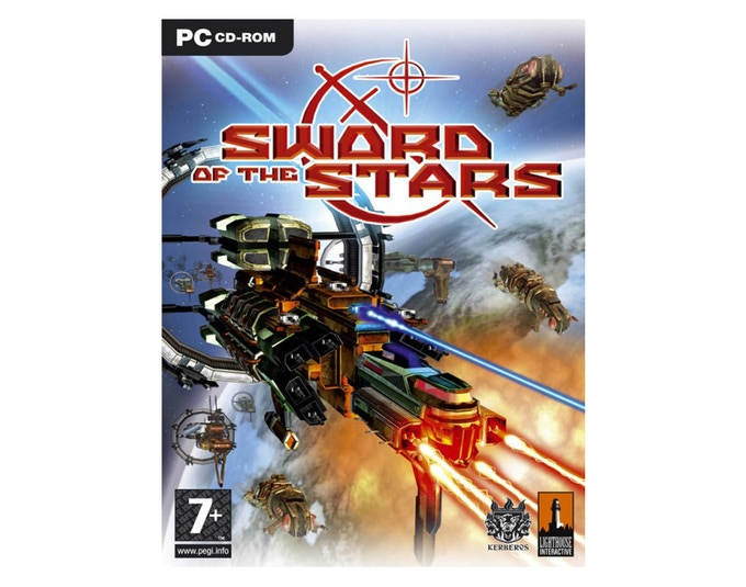 The First Game Box for Kerberos! The original Sword of the Stars, released for PC in August 2006!