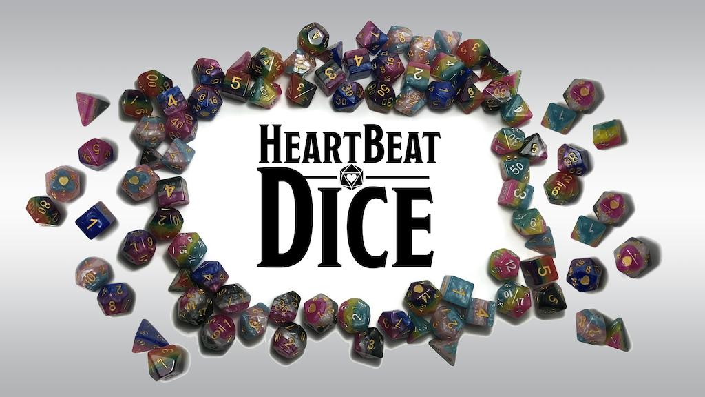 HeartBeat Pride Dice