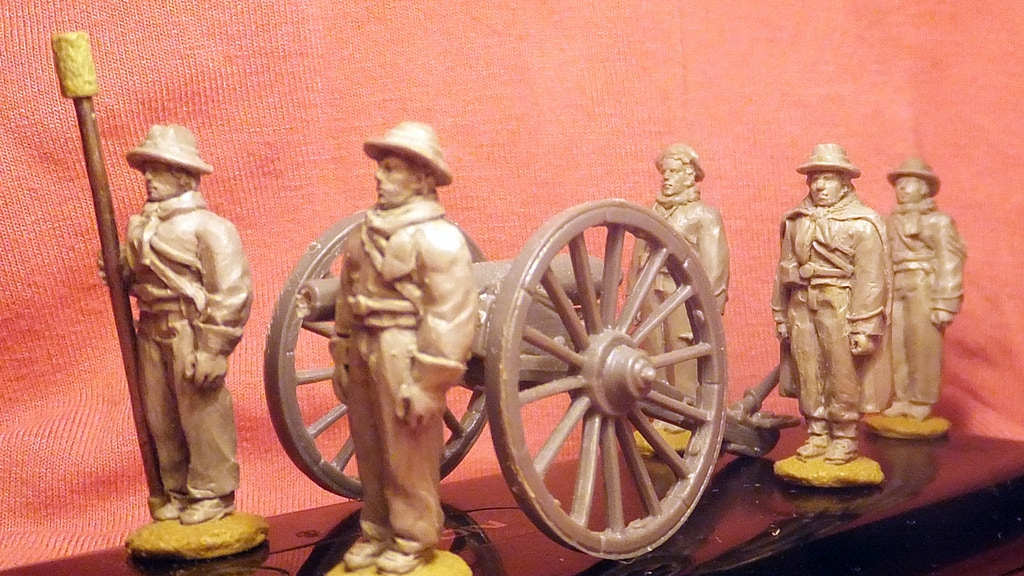 28mm American Civil War (ACW) artillery in winter clothing project video thumbnail