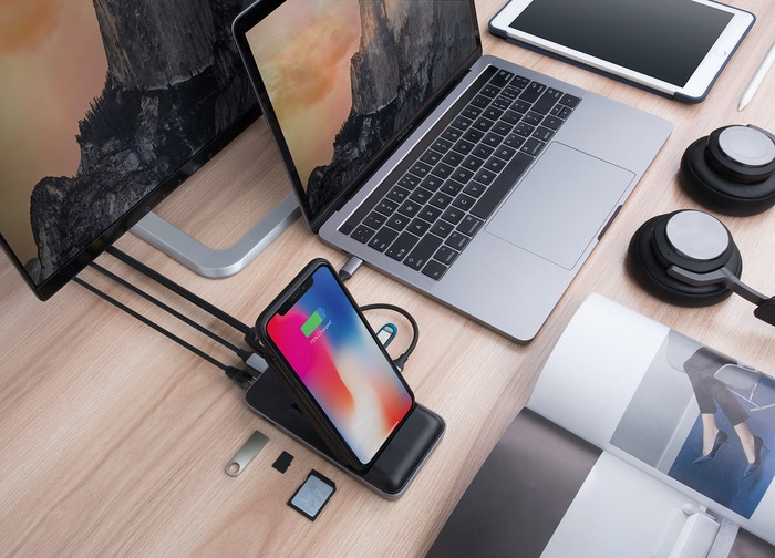 Missed our Kickstarter to get the Award winning HyperDrive  8-in-1 USB-C hub + Fastest 7.5W Qi wireless charger convertible phone stand for iPhone & Android. Join in the next batch of pre-orders at Indiegogo InDemand!