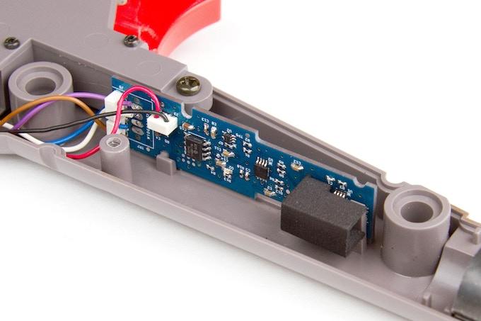 Modern Mallard modification board installed in Zapper