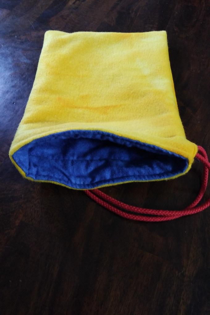 Handcrafted Storage Bag! Slight variations might occur for each final product.